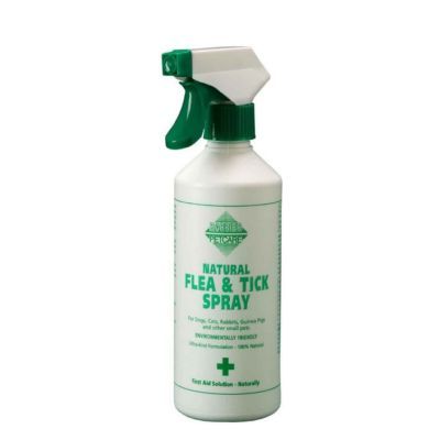 Barrier Natural Flea and Tick Spray for Dogs 400ml